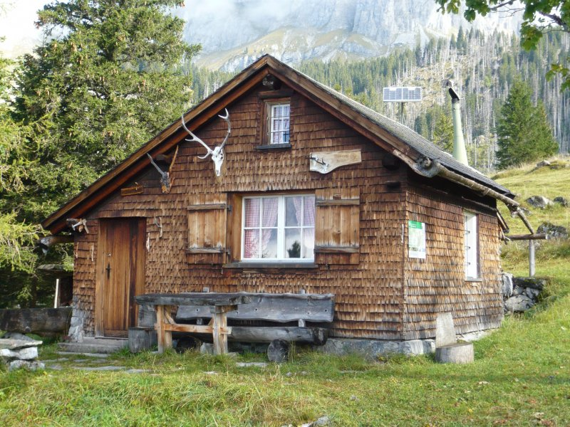 Wildhüterhütte ob Aeugstenhütte