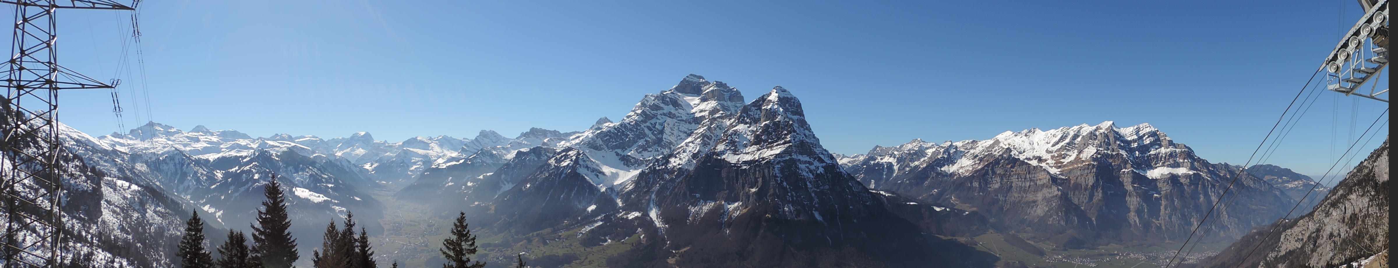 Aussicht Bergstation
