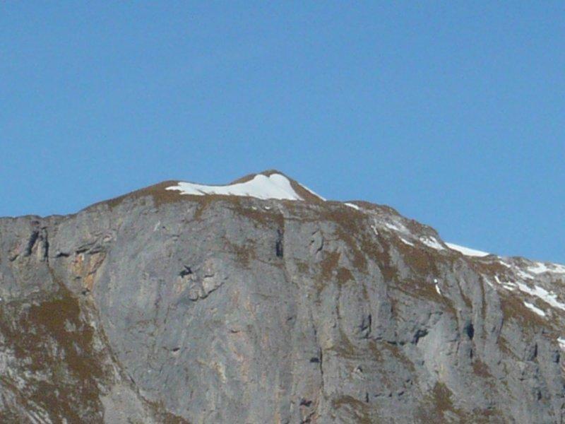 Gipfel Schilt